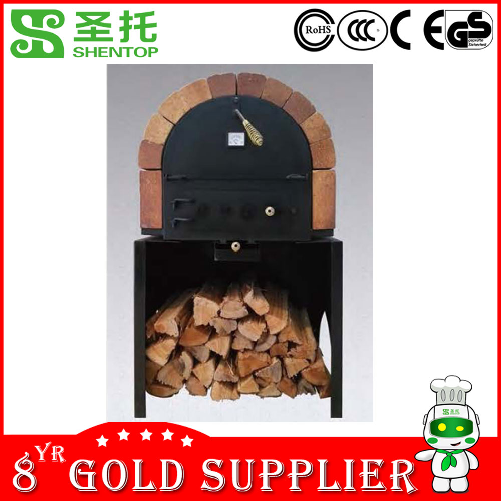 Shentop STJ-H3 Largest Commercial Wood Fired Pizza Oven Wood Burning Pizza Oven Pizza Oven Wood