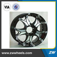 "20"", 22"" High Quality Design: Auto Black Aluminum Alloy Wheel Rim Chrome (ZW-S106)"
