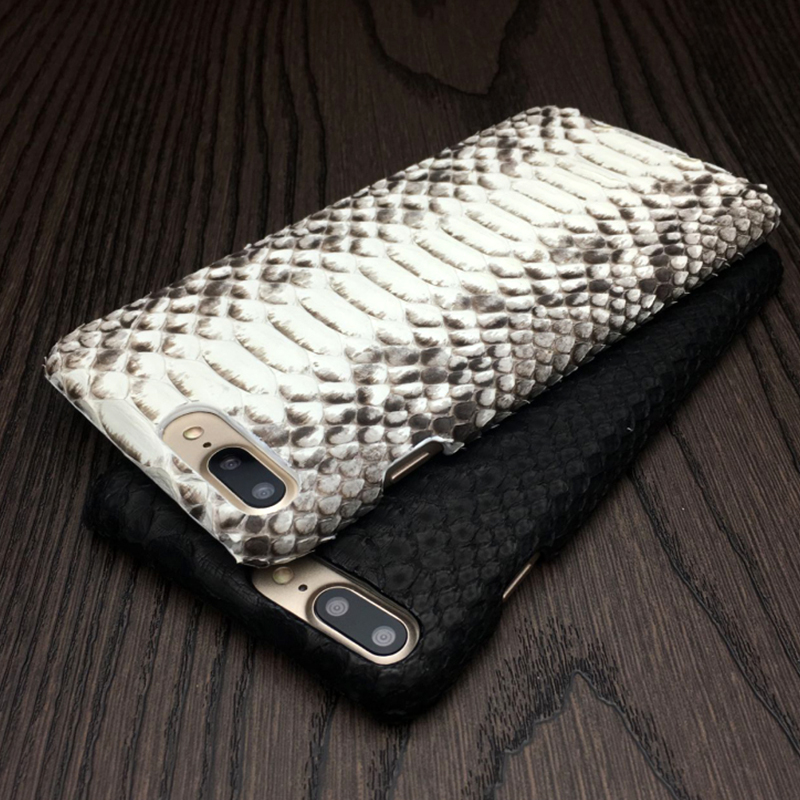 100% Genuine Python Leather Mobile Phone Cover