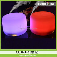 electric aroma diffuser with 7-color-changing LED Light