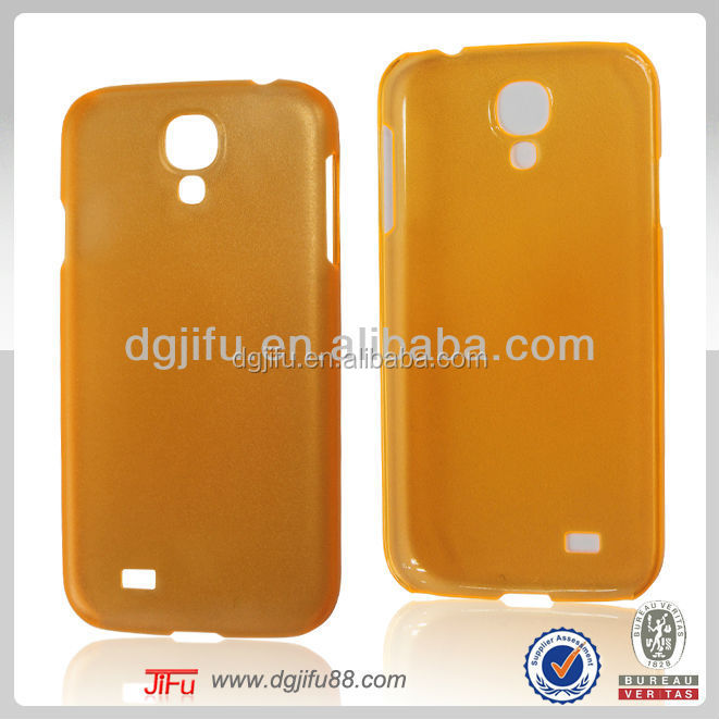 for Samsung translucent plain phone accessory,phone case cover for samsung galaxy s4 i9500