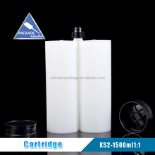 KS-2 1500ml 1:1 epoxy resin glue and silicone sealant empty cartridge