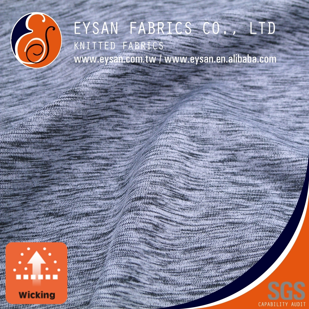 EYSAN Dri Fit Polyester Spandex fabric manufacturers for Sportswear