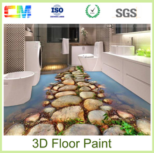 Chinese imports wholesale new products epoxy resin 3d vinyl flooring paint
