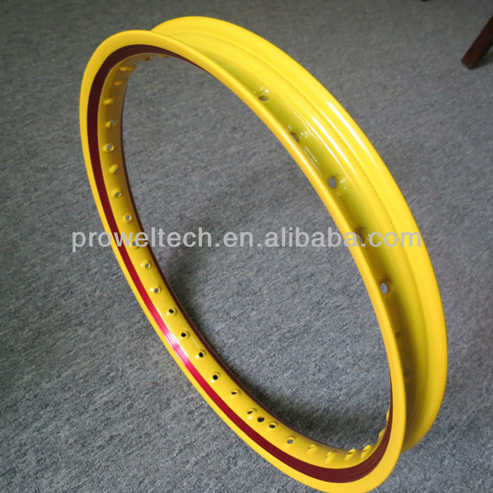 2013 Double Colors U 1.20-1.60X17 aluminum rims for Southeast Asia market