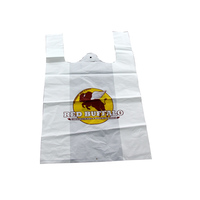 takeaway plastic bag biodegradable food packaging
