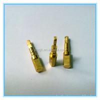 top quality precise brass cnc lathe machinery pieces/ copper cnc lathe spare pieces for ipad mini/ cnc lathe pieces