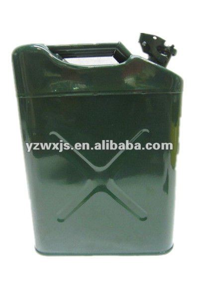 Olive Green Metal 5 Gallon Jerry Can for Jeep