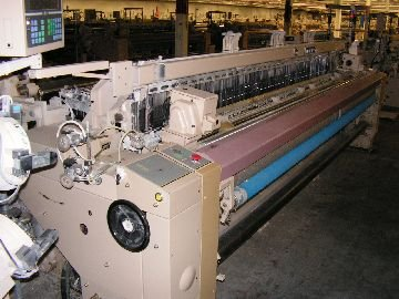 1997 Tsudakoma ZAX 330cm Air Jet Weaving Machines