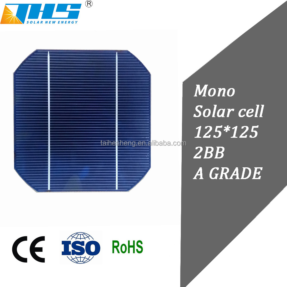 Top quality solar cell 5 inch small round , large number for sale