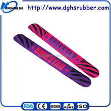 Pop desugn factory price customized Silicone Rubber Bangle