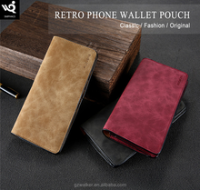 Hot selling wholesales original floveme universal style leather wallet phone case cover for iphone 7 7 plus s8 s8 plus
