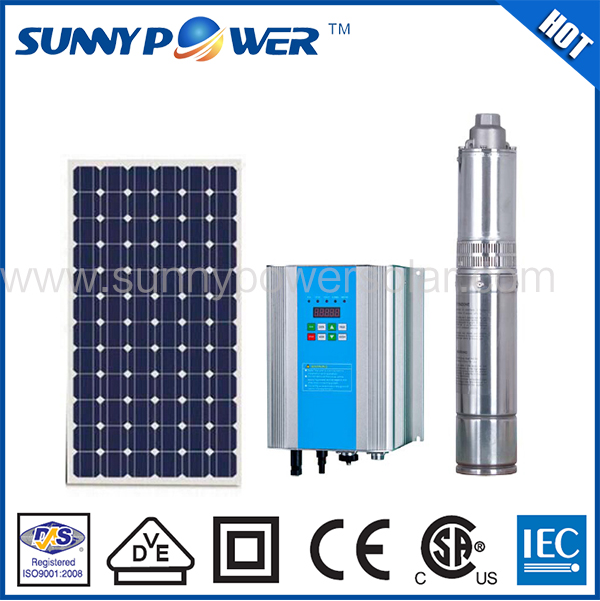 High quality Permanent Magnet 3500w solar water pump