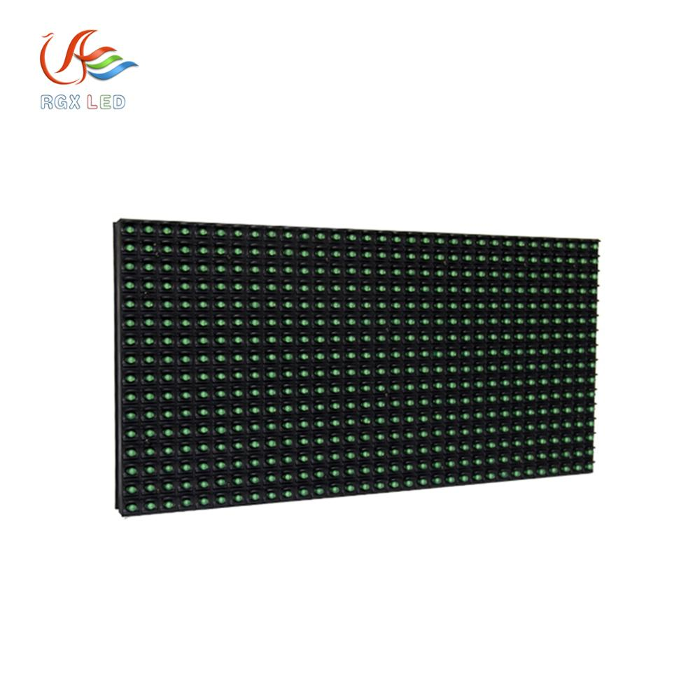 Wholesale Factory price outdoor <strong>advertising</strong> <strong>sign</strong> <strong>p10</strong> single green color led module