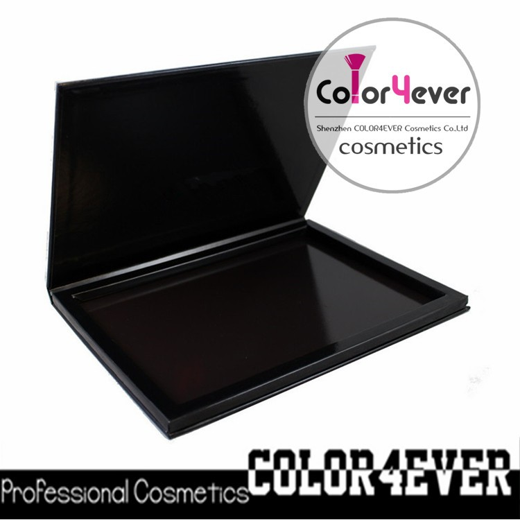 Paper makeup box empty magnetic makeup eyeshadow palette
