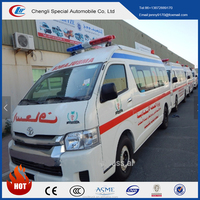 Factory directly sell Hiace High Roof ICU Ambulance