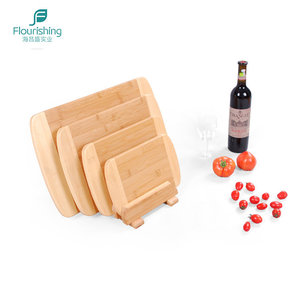 Wholesale Bamboo Kitchen Cutting Wooden Board Set With Holder
