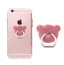 New Arrivals 2018 Bling Glitter Mobile Cell Phone Finger Ring Stent, Ring Phone Stand