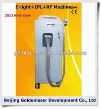 www.golden-laser.org/2013 New style E-light+IPL+RF machine new radium beauty equipment