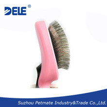 Pet self-cleaning slicker brush pet grooming cleaning brush dogs and cats supplies