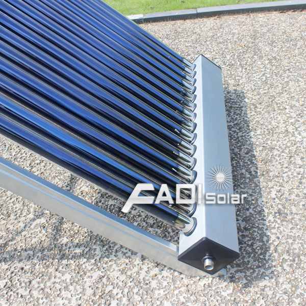 New design of solar water heating system (135 liter)