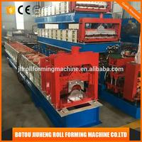 Hot sale galvanized ridge roofing cap gutter cold roll forming machine