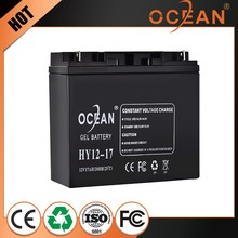New design diaphanous 12V 17ah best price energy storage battery
