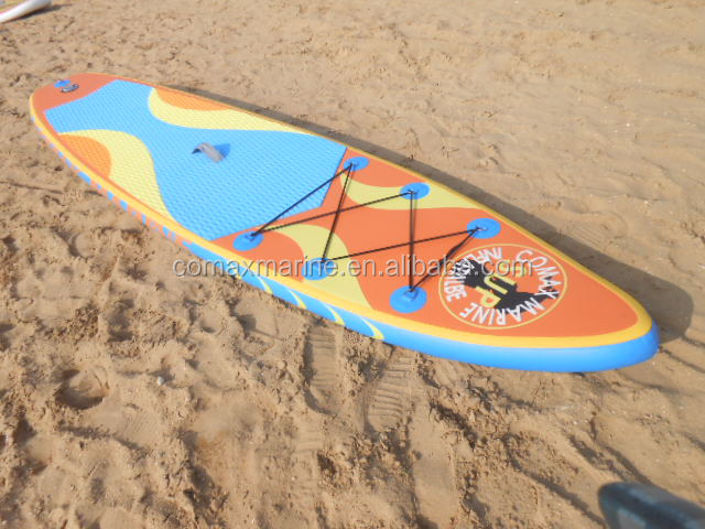 High quality classic cheap blue paint SUP stand up paddle boards /surfing board stand up paddle board