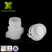 2016 hdpe screw top squeeze test tube with bottle cap