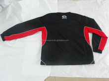 custom pull-over black and red tracksuit for club, school team