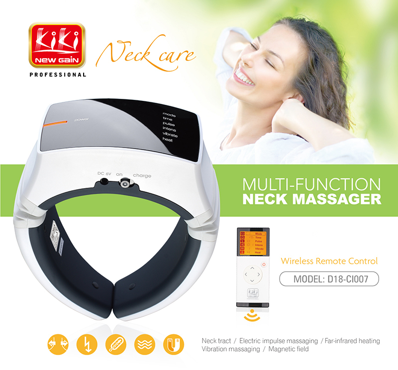 hot sale electric Neck Massager.health care products.body massager.Cervical therapy instrument
