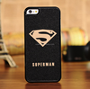 Super man hard pc back scrape resistant case cover for iPhone5 5S