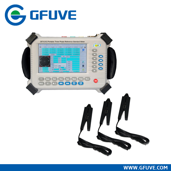 Energy meter testing equipment GF312V2 triphase Kwh meter testing set