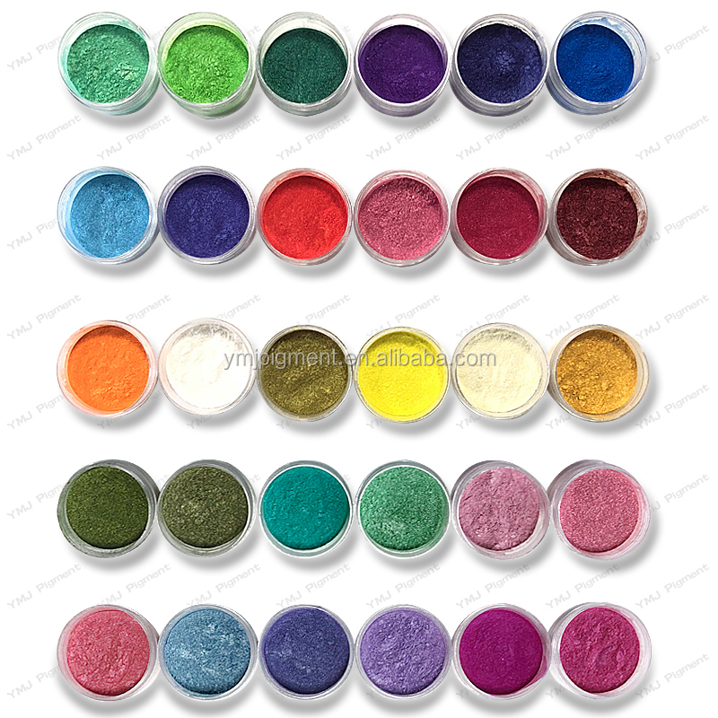 <strong>Colored</strong> Mica Powder, Magic <strong>Coloring</strong> Pearl Pigment for Plastics/Resin/Paints/Nail Polish