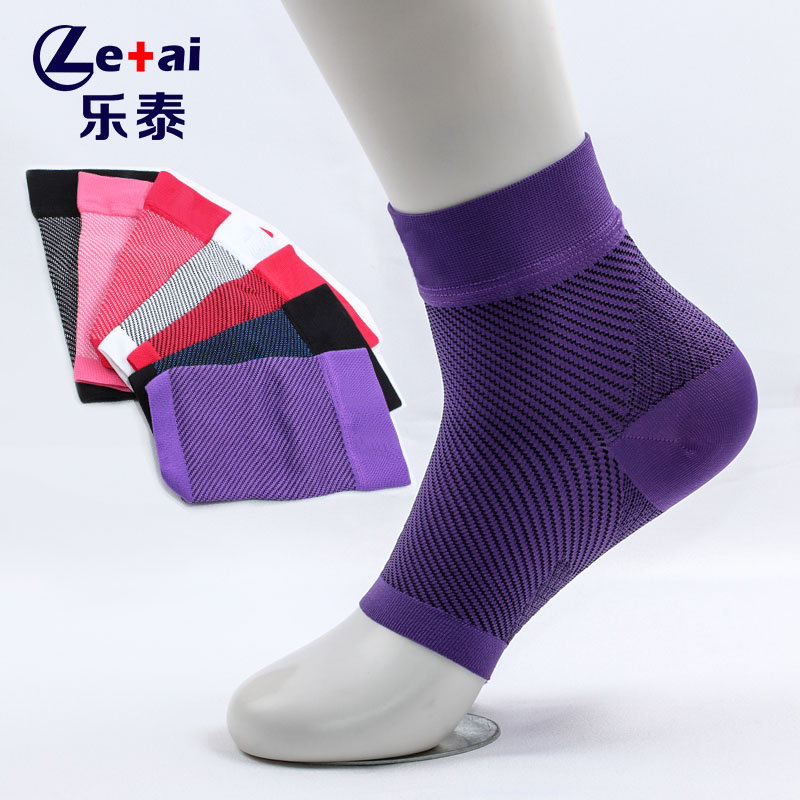 Sport <strong>protect</strong> jacquard ankle brace compression support sleeve for Basketball Running volleyball Sport,Breathable Ankle Support