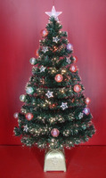 Home Decor Fiber Optic PVC Christmas Tree