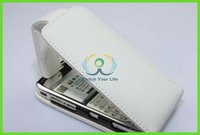 pure white leather cellphone cases cover for nokia