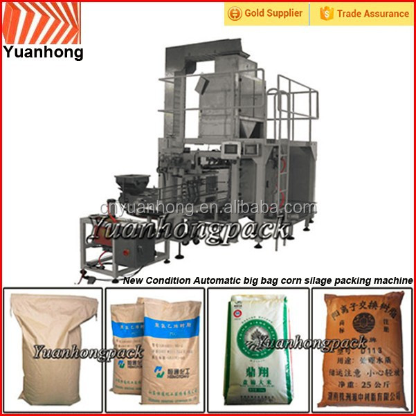 Automatic corn silage packing machine for 10-50kg bag