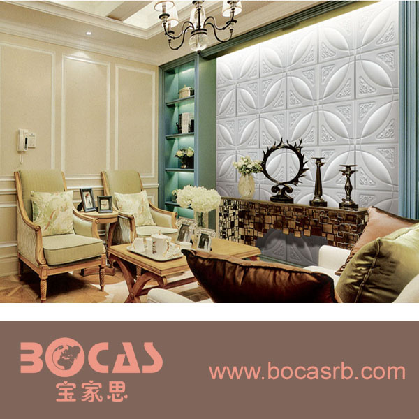 Decorative interior wall panel