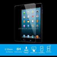 Factory supply anti sctrach tempered glass screen protector for ipad air 2