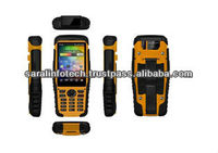 Industrial rugged Android handheld with Symbol 1D Barcode scanner, RFID