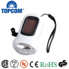 Hand crank emergency Dynamo Solar 3 LED Hand Rechargeable Flashlight