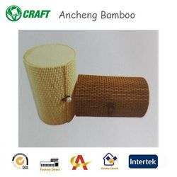 handmade packaging bamboo box round made in china