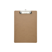 Eco-Friendly Low Profile Letter Size Masonite Wood Clipboard Quality Guaranteed MDF Clip Board