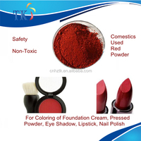 Iron Oxide Red 118 for Foundation Cream, Pressed Powder, Eye Shadow, Lipstick, Nail Polish