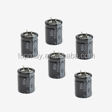 Snap In Terminal Aluminum Electrolytic Capacitor 330uf 200v