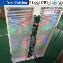 High end indoor display screen, latest technology products, indoor color transparent full-color LED display
