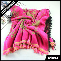 A109-F Hot Classic Multicolor Woman Scarf 2013 Spring Shawl evening wear shawls