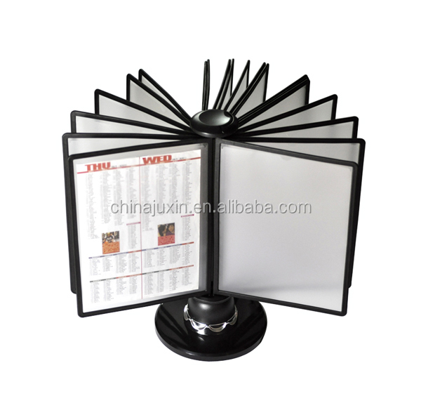 A4,A5 Reference Display Rack with 20 Sleeves