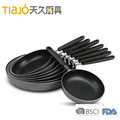 Factory price aluminum alloy induction bottom non stick fry pan